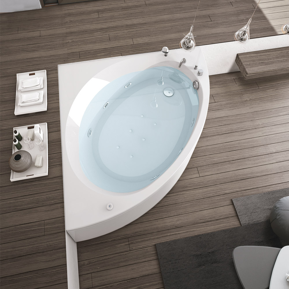 Hafro Nova 140 X 140 Whirlpool Airpool Bath Chic Bathrooms