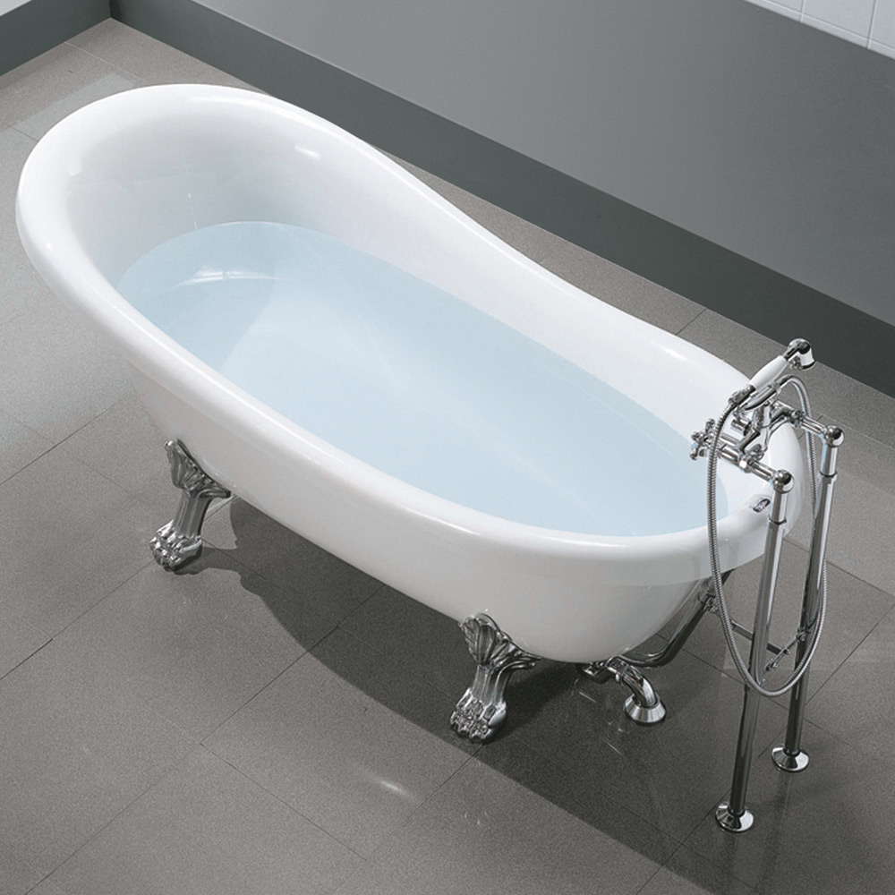 Hafro Old Time 170 X 80cm Freestanding Bathtub Chic Bathrooms